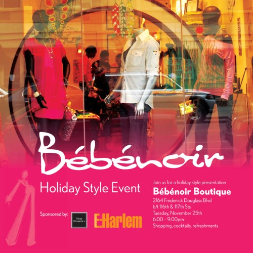 bebenoir holiday event