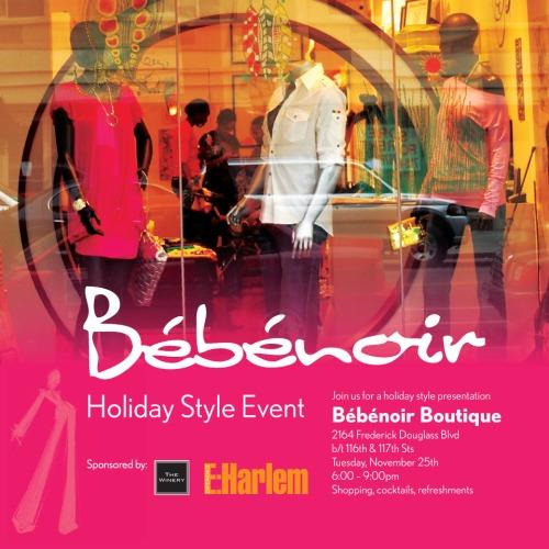 bebenoir holiday event