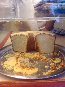 Lemon Cake at Lee Lee's in Harlem
